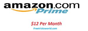 amazon prime account price in dollar
