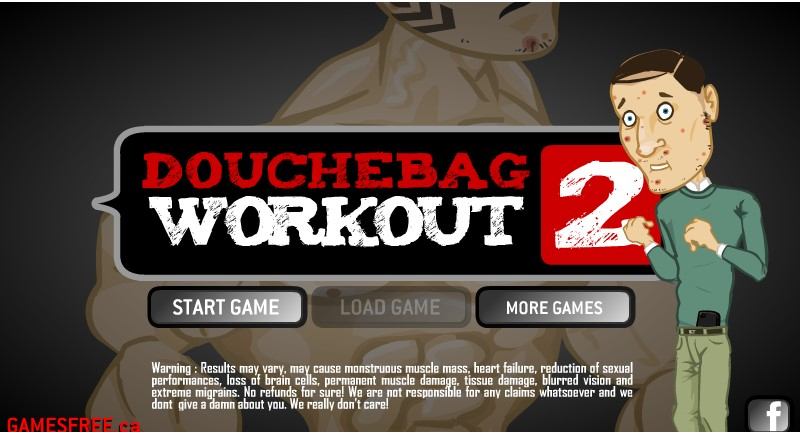 Douchebag Workout 2 Game cheat codes