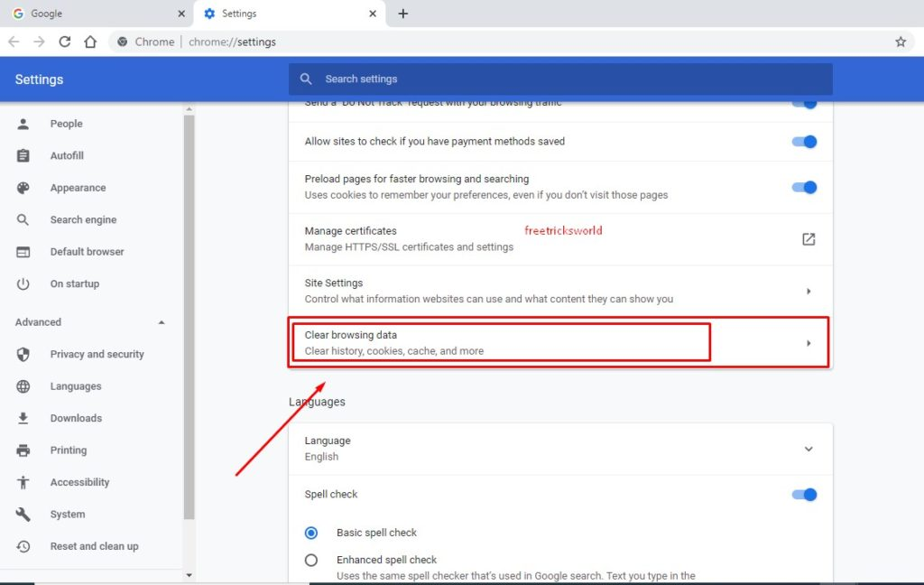 How To Open Chrome Browser Cookies History