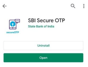 What is SBI Secure OTP