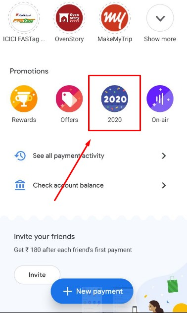 Google pay welcome 2020 offer