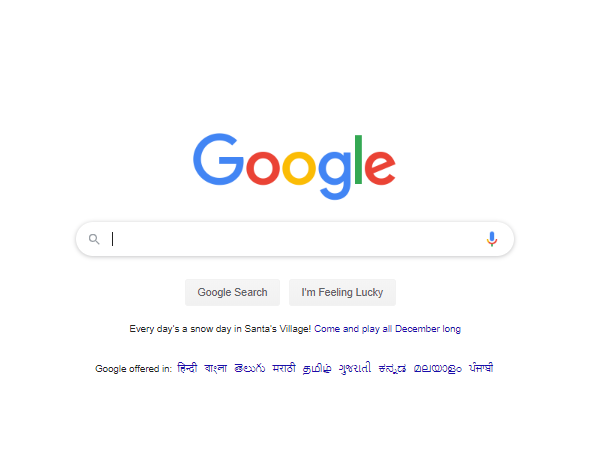 Latest google logo