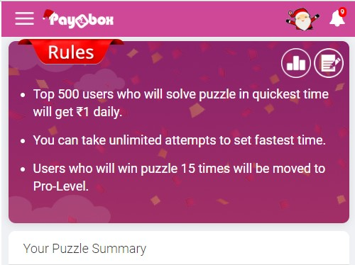 Solve Puzzle Paybox Earn