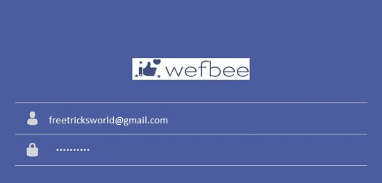 Wefbee Auto Follower App