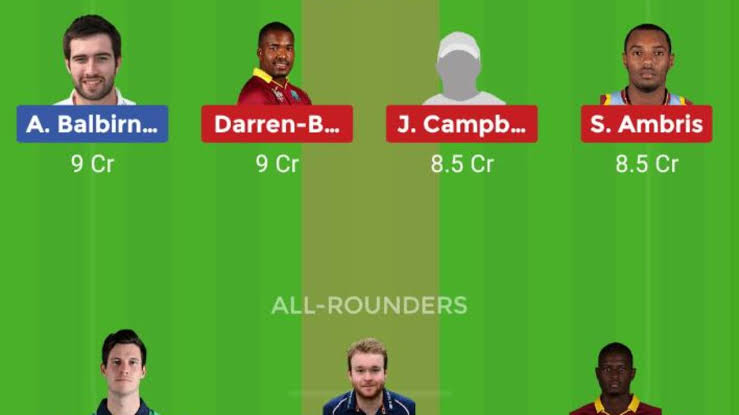Dream 11 Today Team