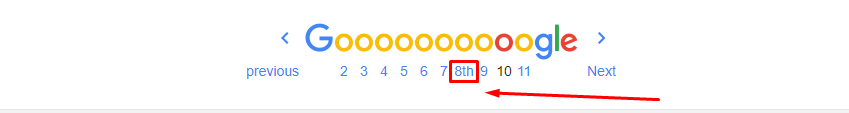 Google Pagination Sucks
