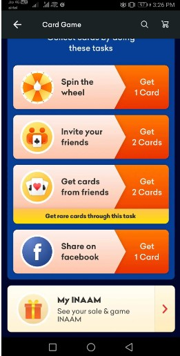 How To Collect All 4 Cards