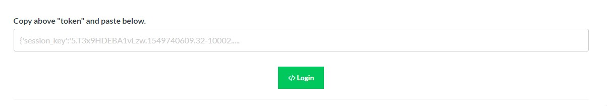 Access Token Login