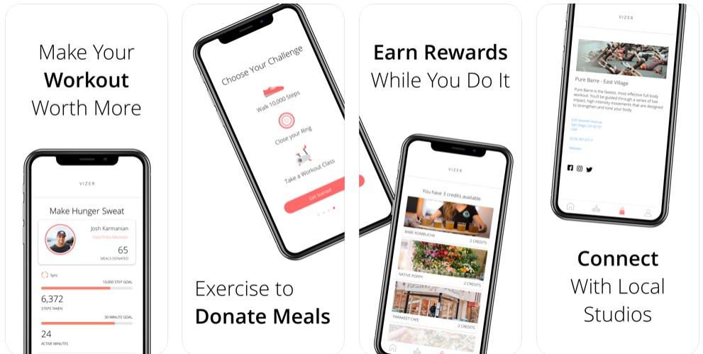 Vizer Fitness App