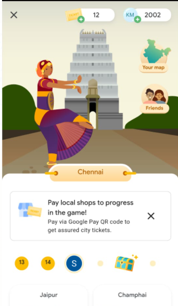 Go India Google Pay Game