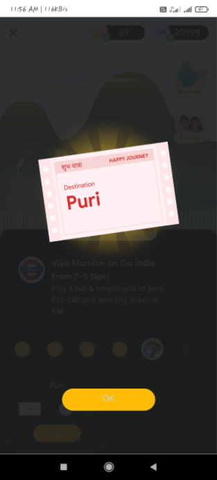 Get Puri Ticket Go India